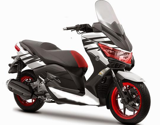 gabar Modifikasi Yamaha Nmax terbaru