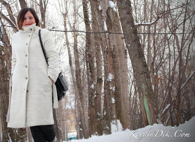 beyaz palto, kışın ne giysem, kış modası