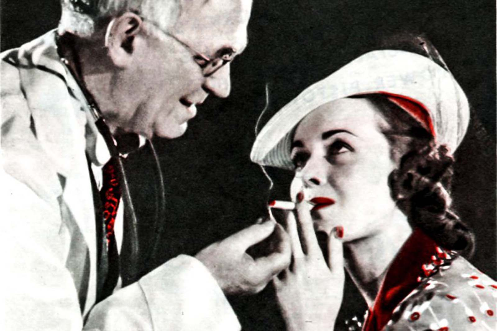 Decades before the full-fledged public health campaign against smoking, tobacco companies tried to align their brands with doctors using bribery and ludicrous health claims.