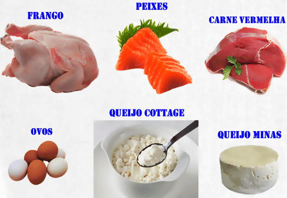 Colágeno-Alguns-alimentos