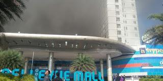 apartement terbakar