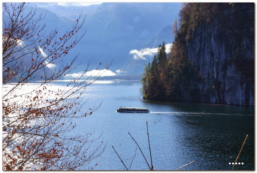 閒閒po遊記: 10/31 再遊 國王湖Königssee & 藍紹 Hintersee