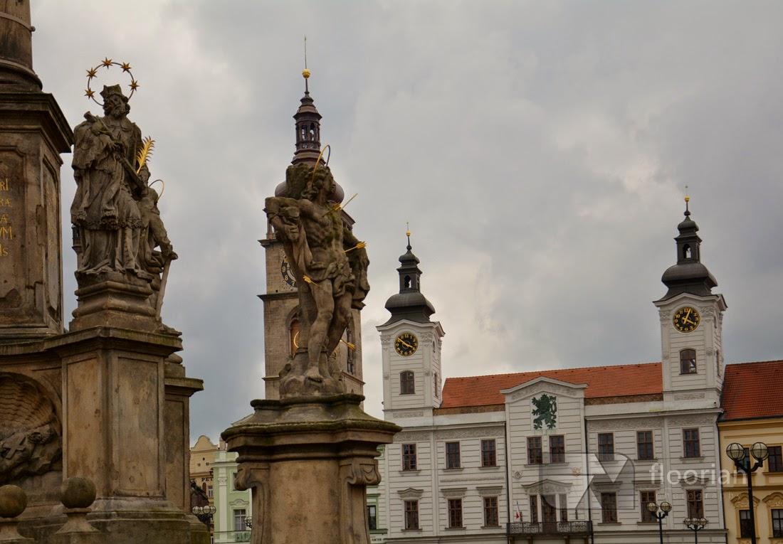 Hradec Králové - Velké náměstí (Duży Rynek)