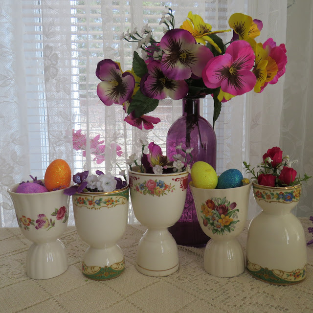 A Gathering Of Eggcups