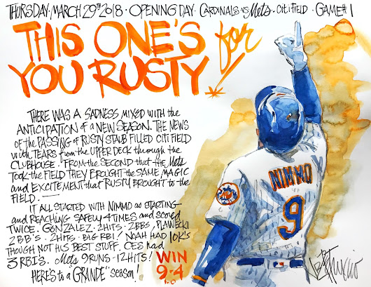 Mets Opening Day!
