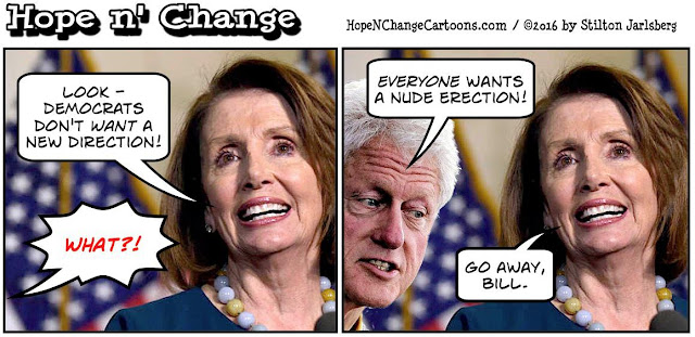 obama, obama jokes, political, humor, cartoon, conservative, hope n' change, hope and change, stilton jarlsberg, pelosi, bill clinton, new direction, nude erection