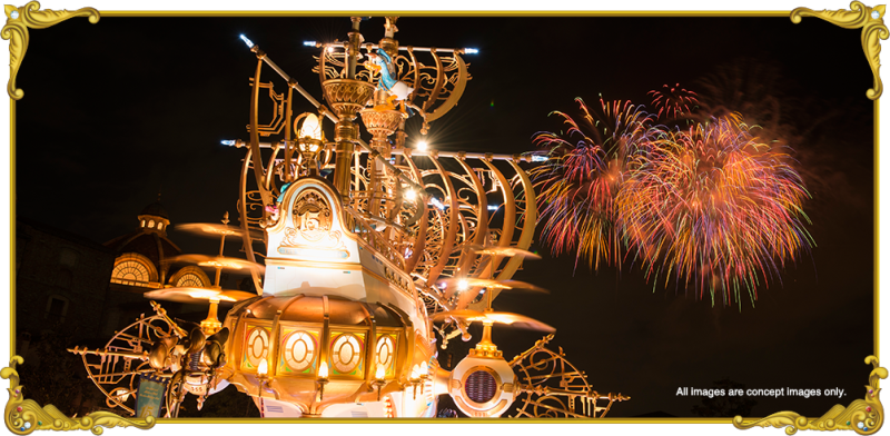 tokyo disney resort disneysea fireworks sky high wishes
