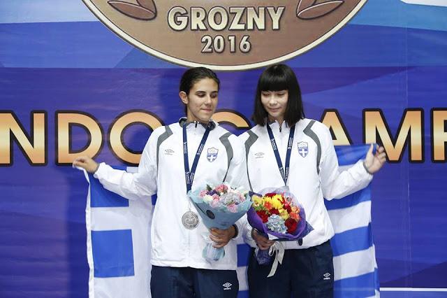 Συγχαρητήρια Μανιάτη στη Μαρία Κουκουμέλου για το ασημένιο μετάλλιο στη Ρωσία