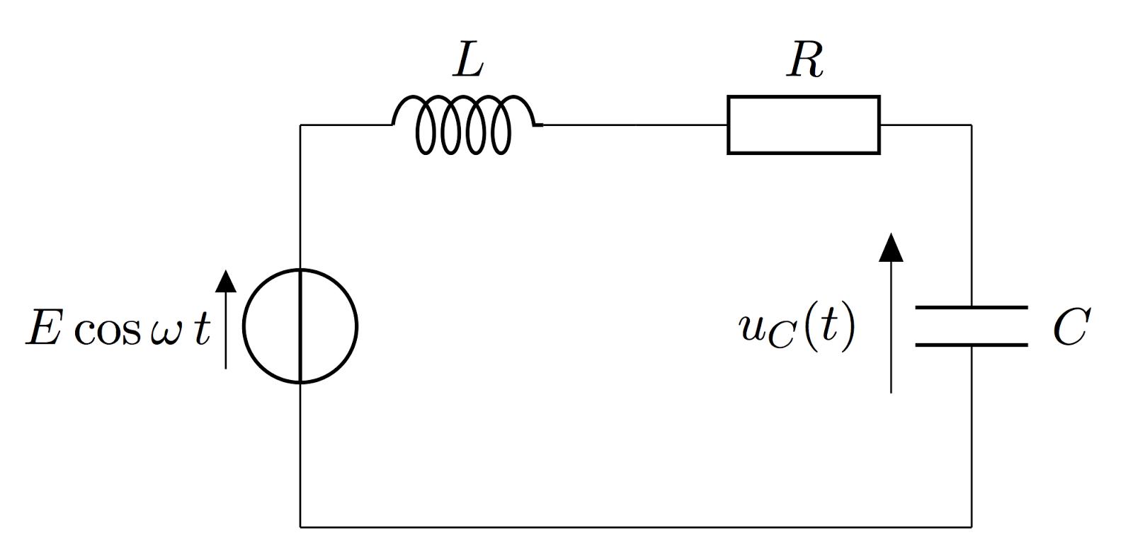 the series rlc circuit electronics