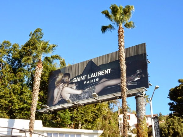 Saint Laurent Paris Spring 2015 billboard