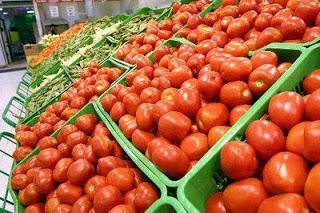 Foto de tomates listos para vender
