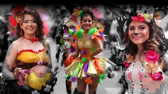 Programa completo Fiesta de la Fruta y de las Flores Ambato 2019 Carnaval