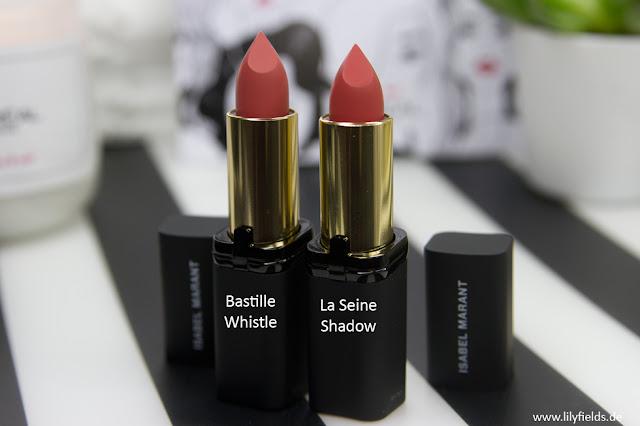 """L'ORÉAL PARIS x ISABEL MARANT - Matte Lipstick """"Smile"""" Swatches"""