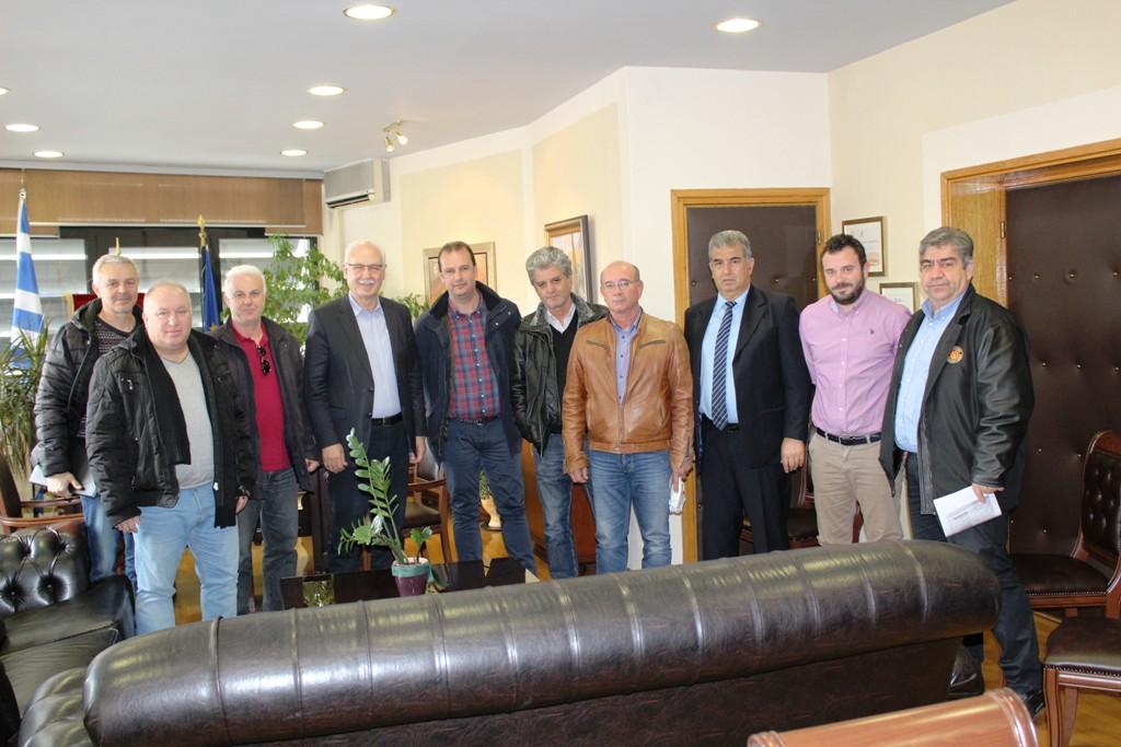Συνάντηση της ΕΠΣ Λάρισας με τον Δήμαρχο Λαρισαίων (ΦΩΤΟ)
