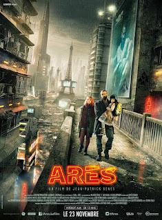 ARES, Ola Rapace, Eva Lallier, Micha Lescot, Action, Science-fiction, Anticipation, poster, jaquette, affiche