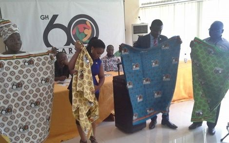 Official Ghana@60 cloth unveiled