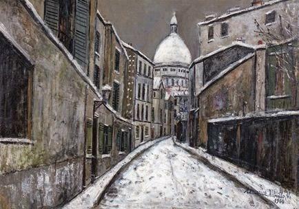 Utrillo, rue  Saint -Rustique