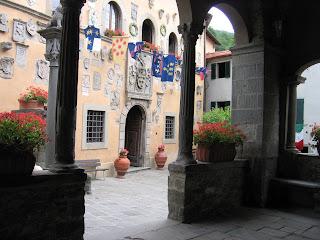 The Palazzo Pretorio in Cutigliano