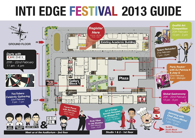 The upcoming INTI Edge Festival 2013