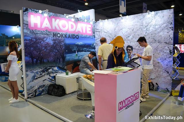Hokkaido Exhibit Booth