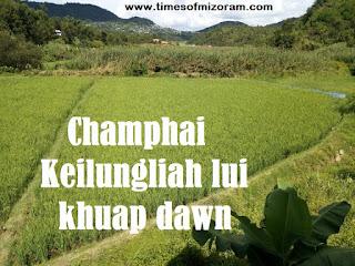Champhai Keilungliah lui khuap dawn