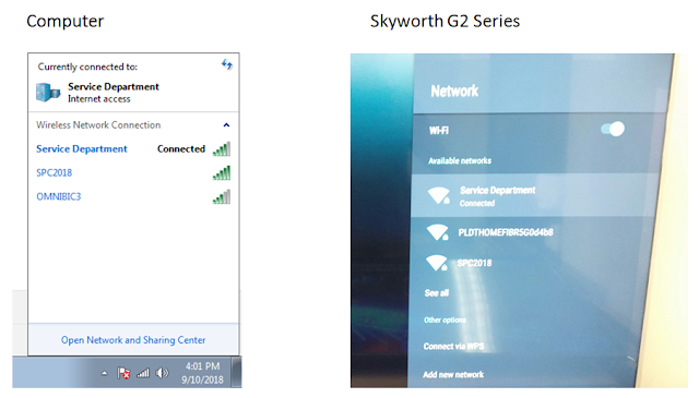 How to connect your Smartphone to Skyworth TV or Coocaa TV? (Viewing