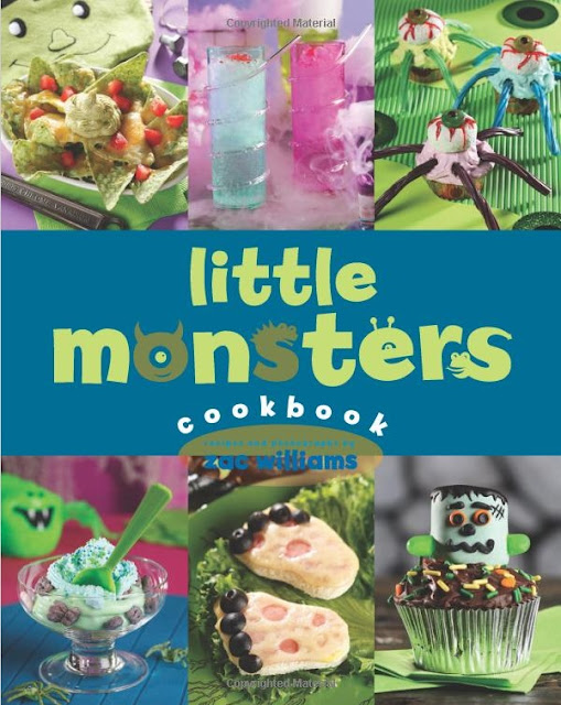 Little Monsters Cookbook For Children at Halloween
