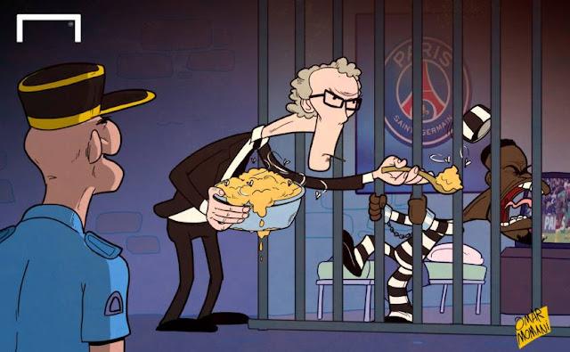 Aurier in Jail