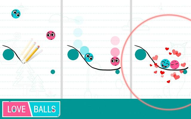 تحميل لعبة الالغاز Love Balls مجانا