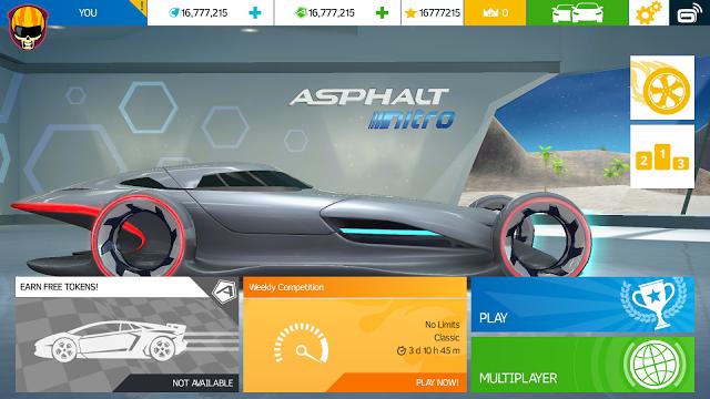 Asphalt Nitro Mod Apk Terbaru