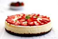 Receta postre Cheesecake con Oreos y chocolate blanco
