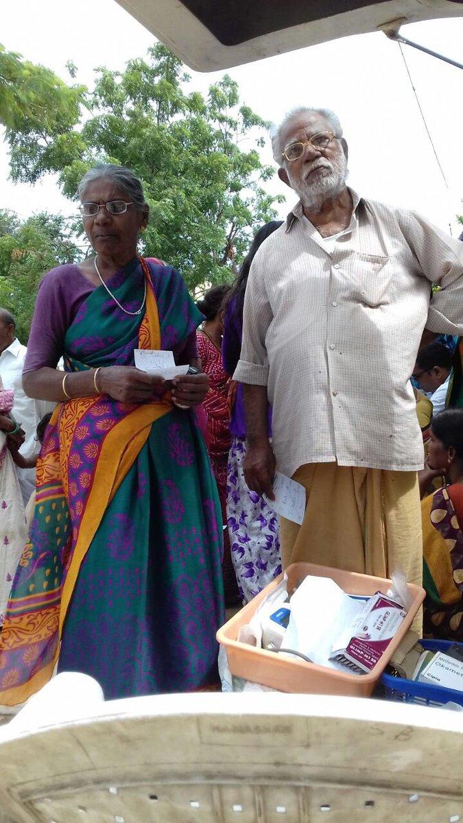 Dr Bhargavachary serving the poor through Sevabharathi Sanjeevani