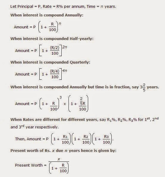 3 5 Compound Interest Formula Worksheet Answers - simple ...