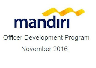 ODP BANK MANDIRI NOVEMBER 2016