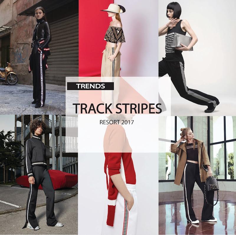TRACK STRIPES . RESORT 2017