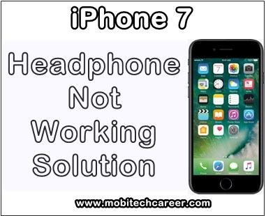 how to fix repair solve apple iphone 7 headphone not working problems