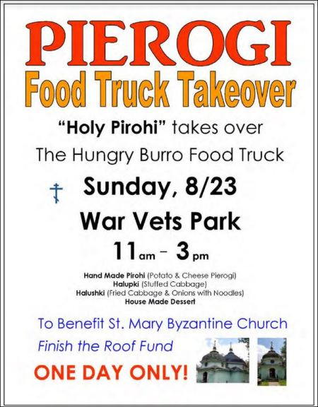 8-23 Olean Pierogi Food Truck Takeover