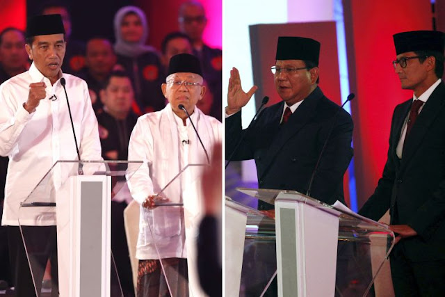 Debat Jokowi Dan Prabowo Mengenai Korupssi Di Indonesia
