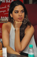 Tanya Hope in a whtie shirt and leggings at Song launch of Movie Patel Sir ~  Exclusive Celebrities Galleries 074.JPG