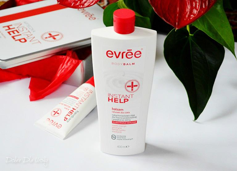 Evrēe Instant Help Balsam do ciała - natychmiastowy ratunek dla przesuszonej skóry
