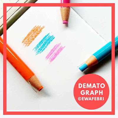 Dematograph pencil