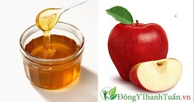 Cách chữa hôi miệng bằng mật ong và nước ép táo