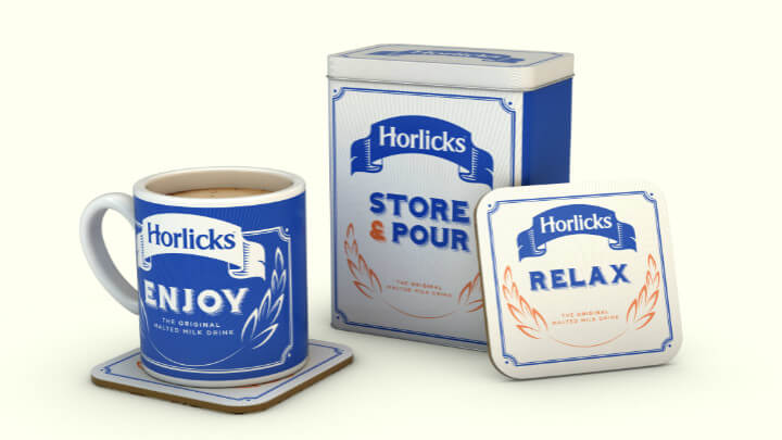 Limited Edition Horlicks Memorabilia