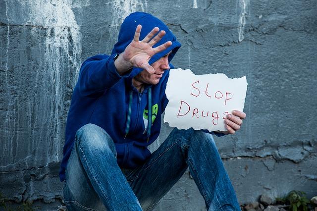 Stop Drugs Addict Drug Addiction Drug Dependence
