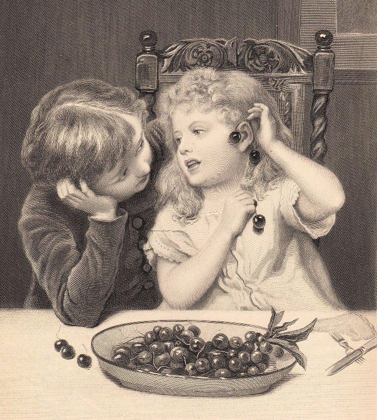Victorian cherry games.