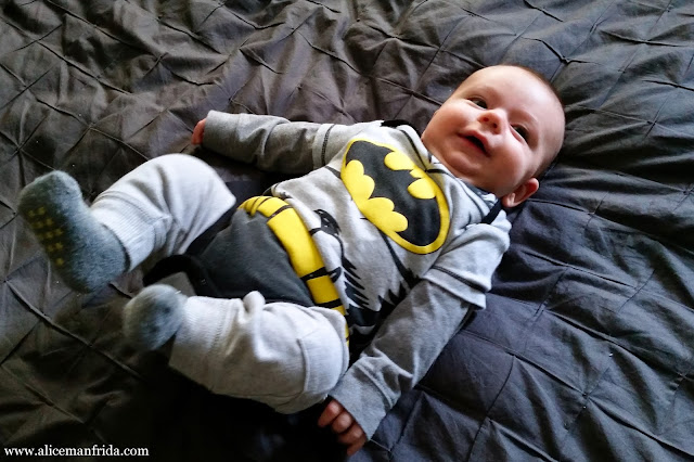 baby, boy, costume, Halloween, Batman