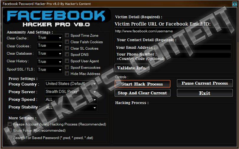 terbaru facebook freezer 20110 hack software