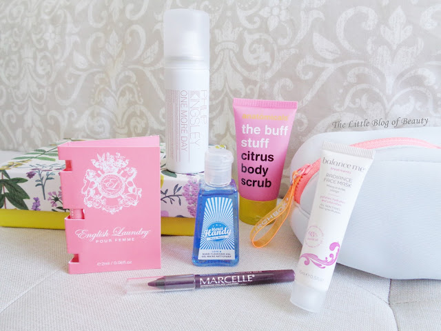 Birchbox August 2016 - Dive in