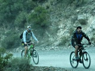 Ciclistas em Villavicencio 1 - A Subida do Morro