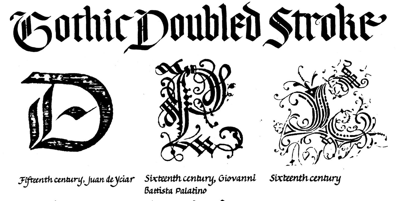 Margaret Shepherd Calligraphy Blog 216 Gothic Plus